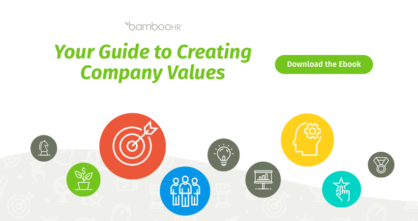 Your Guide to Creating Company Values [eBook]