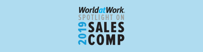World at Work Spotlight on Sales Comp image