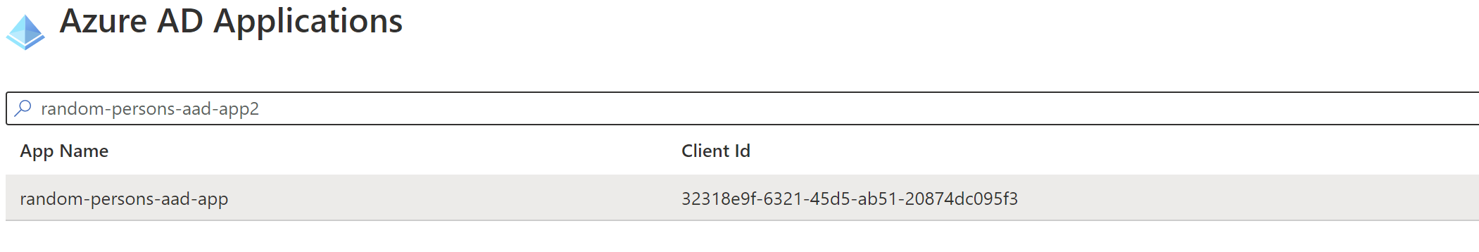 authentication client app name and id