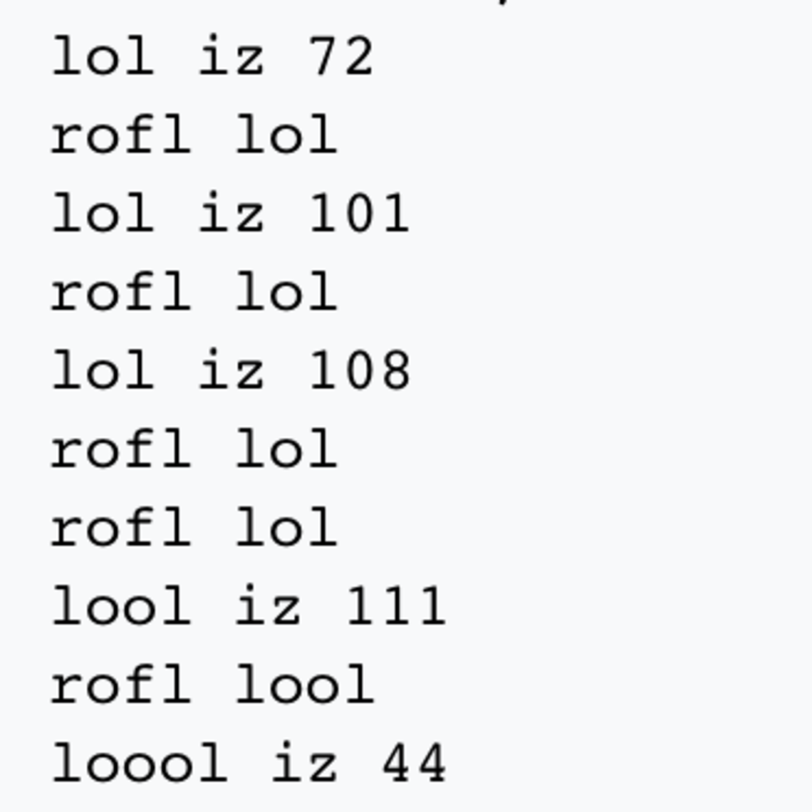 A Custom Omgrofl Lambda Runtime