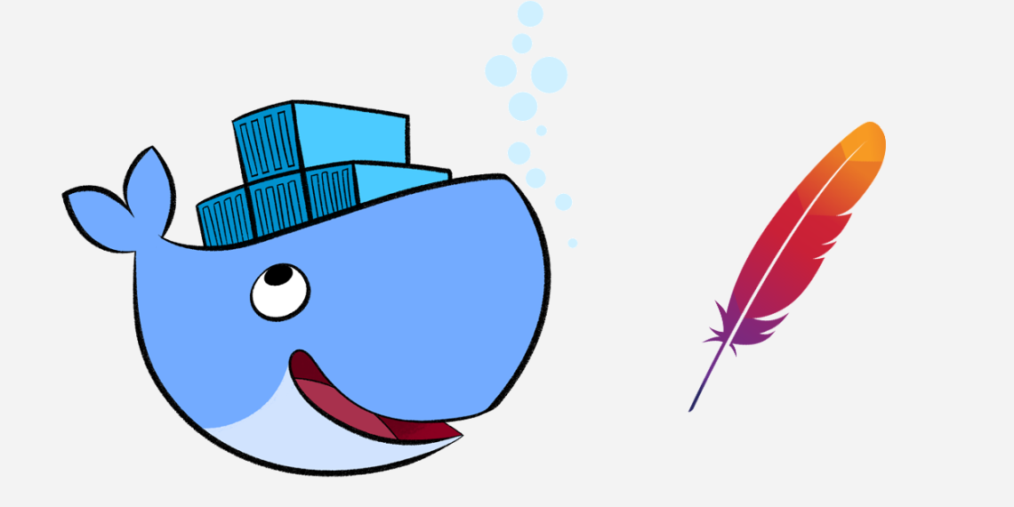Running Apache in a docker container