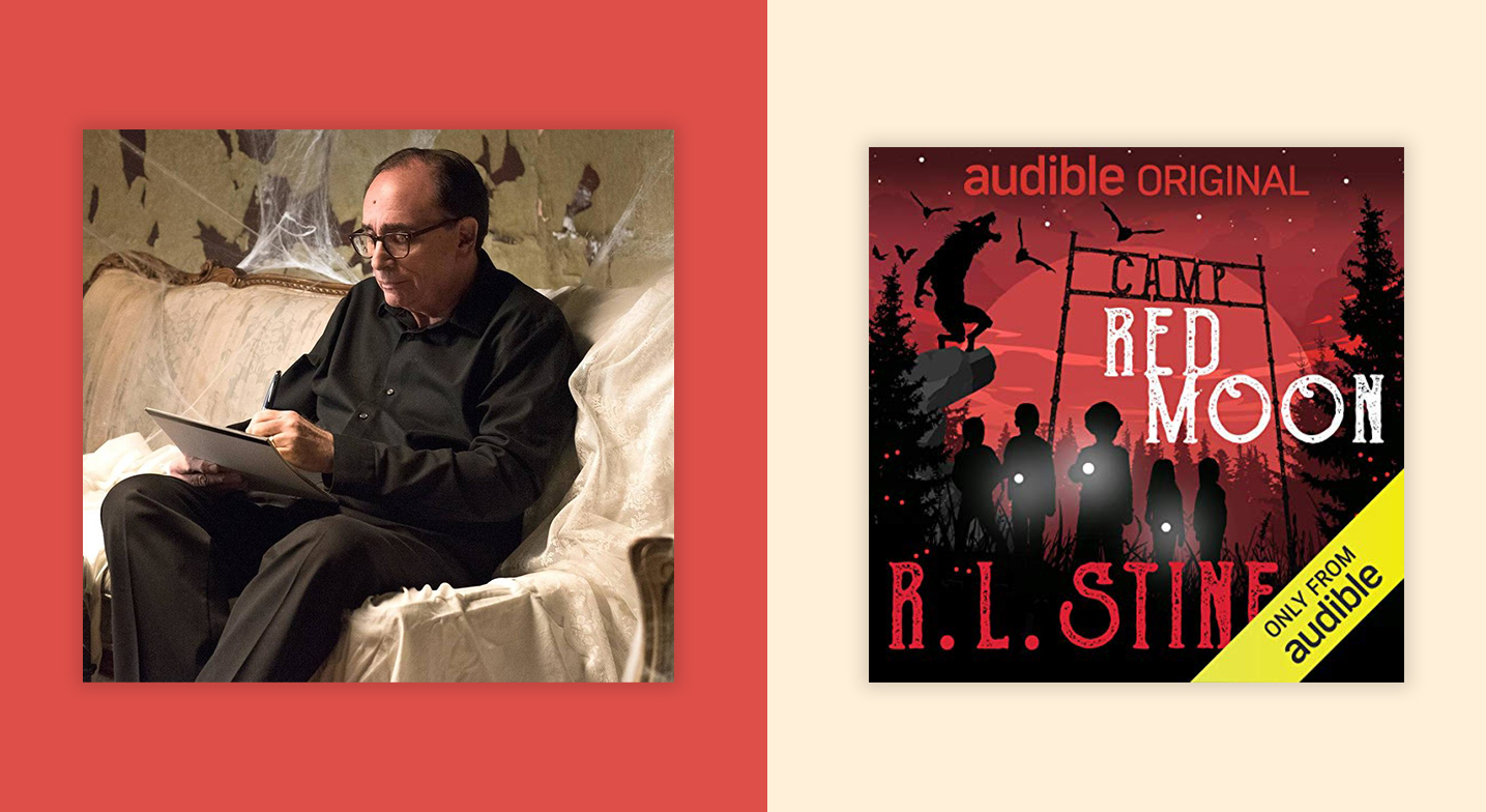 R L Stine Takes His Funny And Delightfully Addictive Scare Tactics to Camp Red Moon
