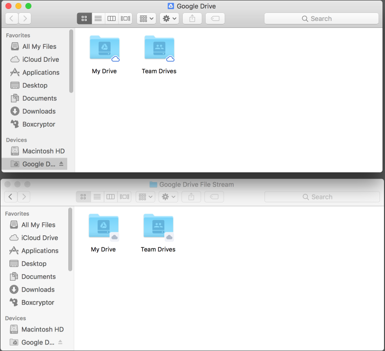 how to add files from drive to drive files stream