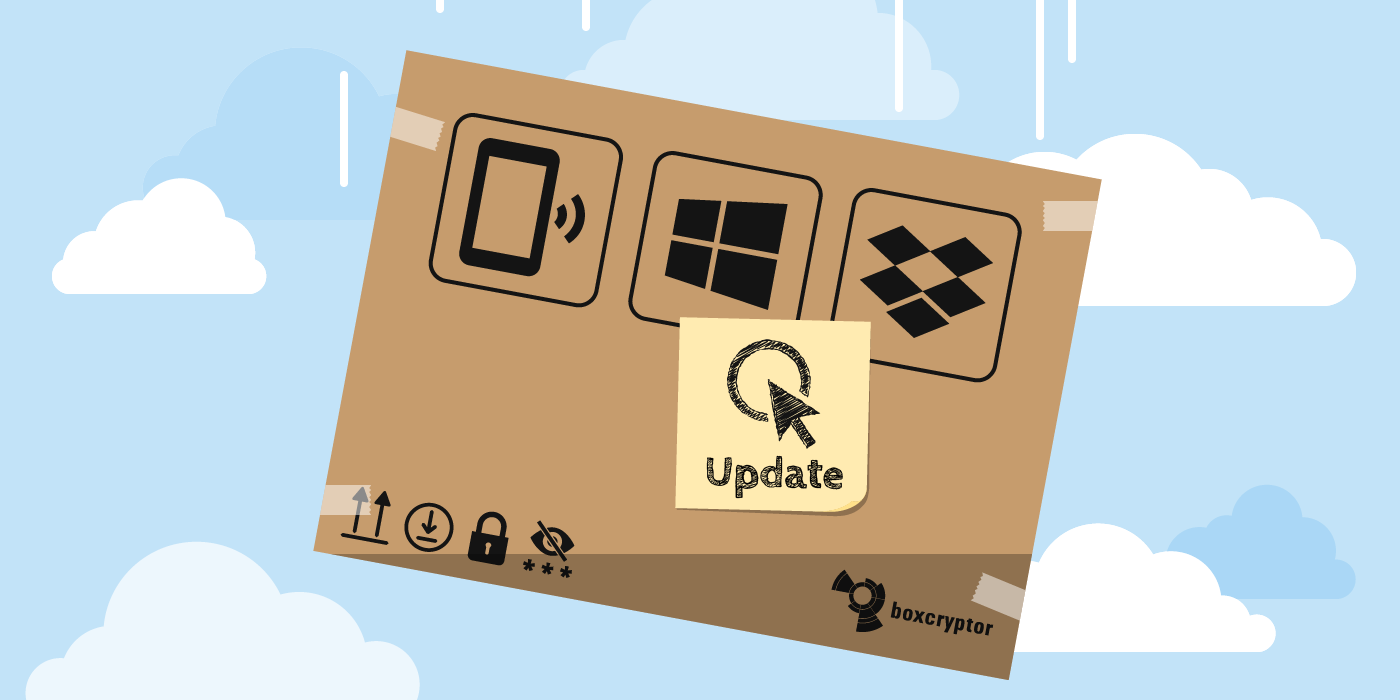 Boxcryptor Product News Juli 2019 – New Features, Improved Performance, New Android App