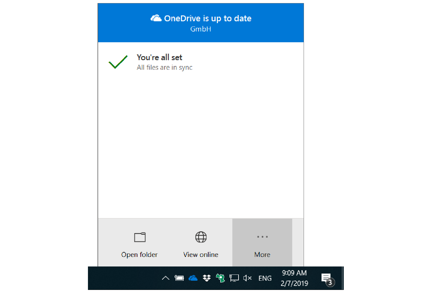 OneDrive for Business client settings