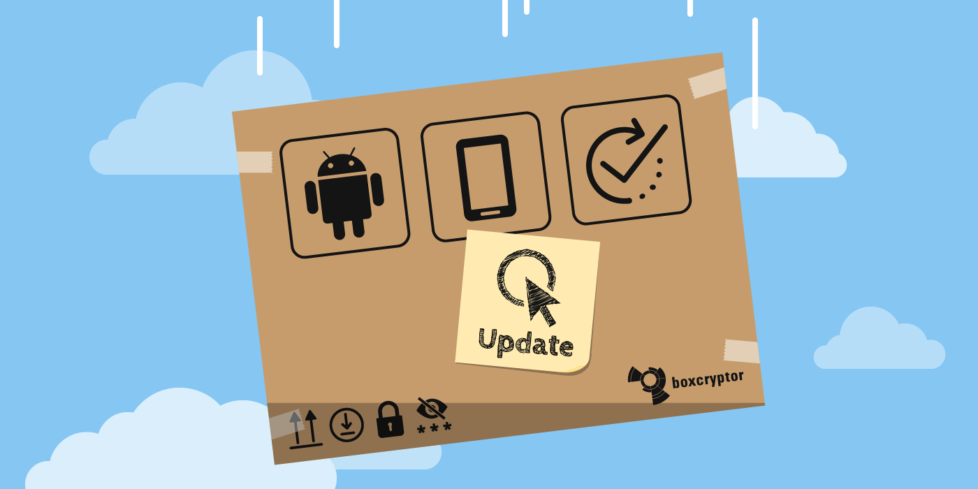 Product News for Boxcryptor for Android – Offline Files Now Available