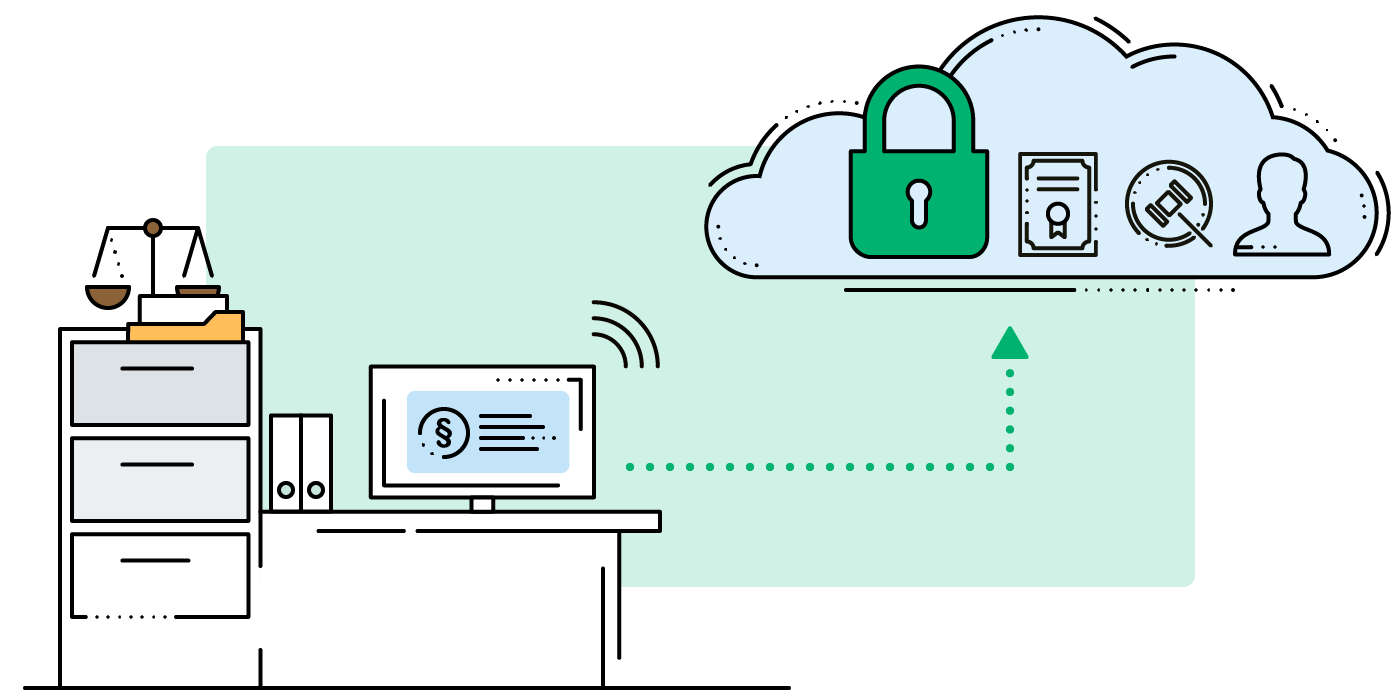 Store your Files in the Cloud - encrypted by Boxcryptor.