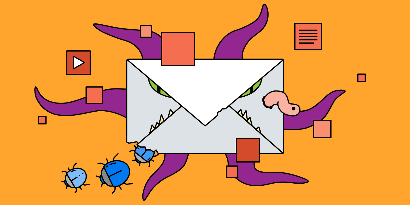 Basic rules in dealing with email attachments