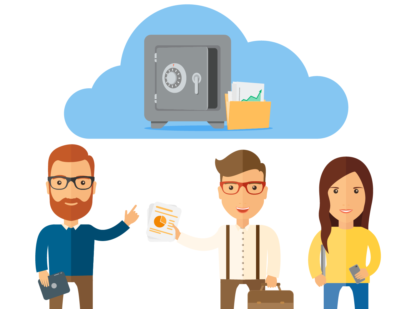 Boxcryptor for Educational Insititution: The cloud makes your data available everywhere and it protects your files from loss through server problems.