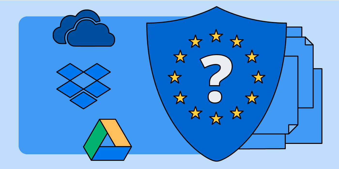 Comparison of Security Measures at Dropbox, Google Drive and OneDrive for Business