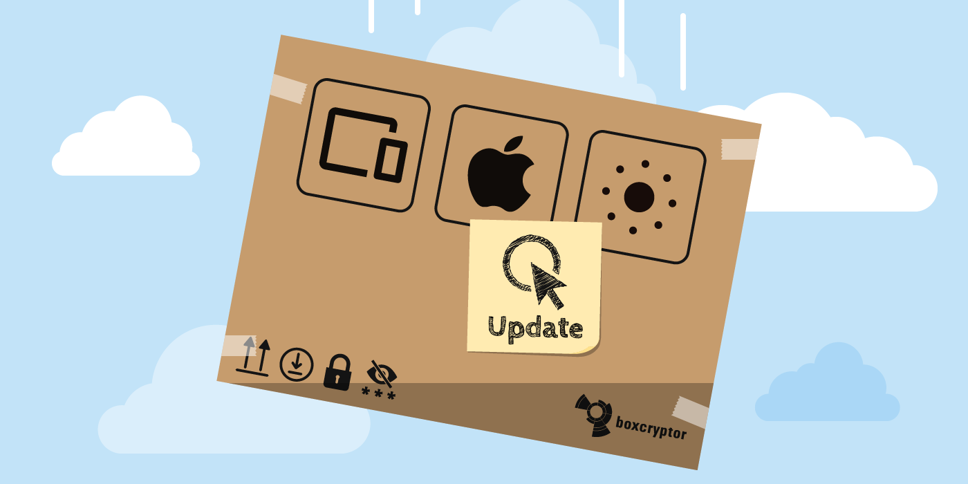 Boxcryptor Product News for Apple, Mac. iOS, Safari, iPhone, iPad