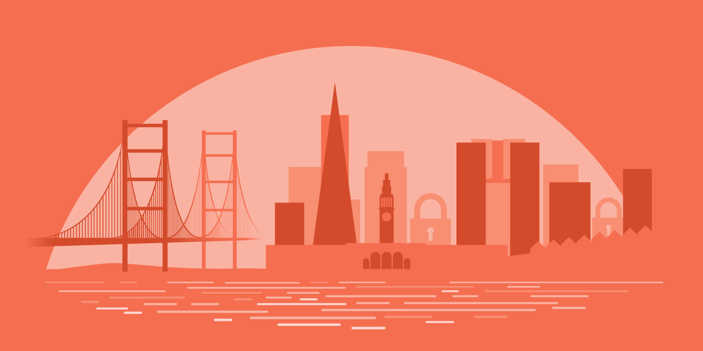 Los Angeles Illustration Skyline