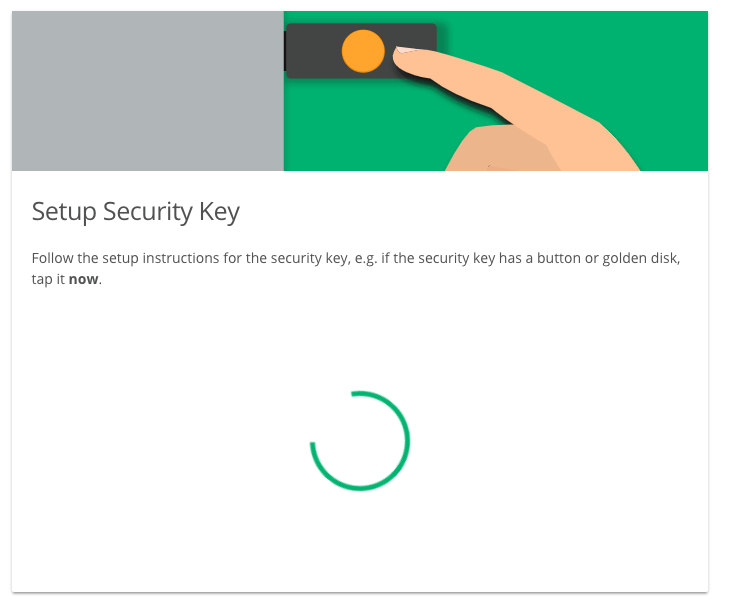 Register Security Key