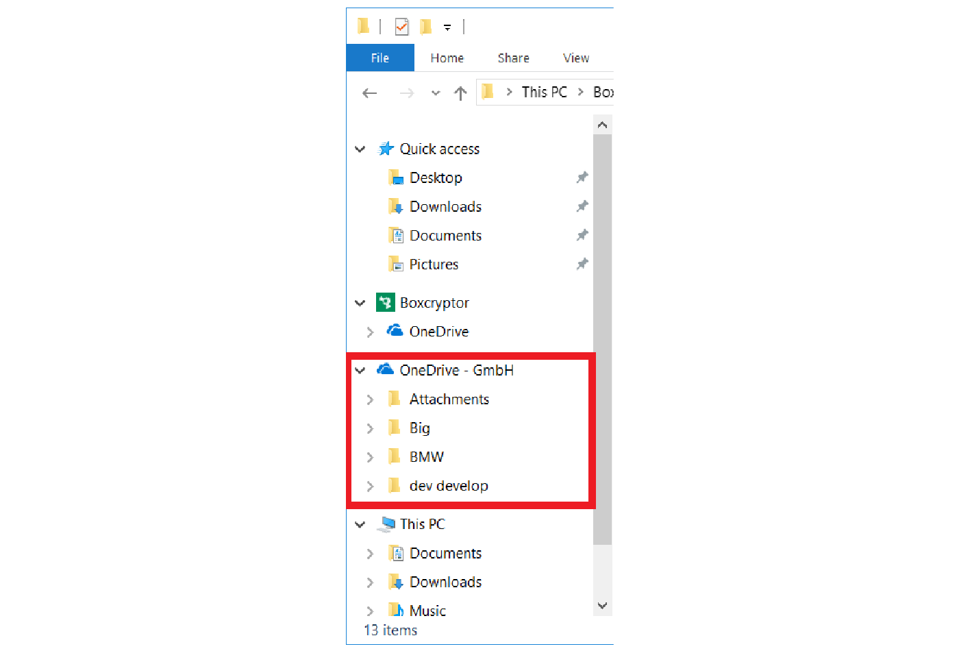 OneDrive for Business client in Windows Explorer
