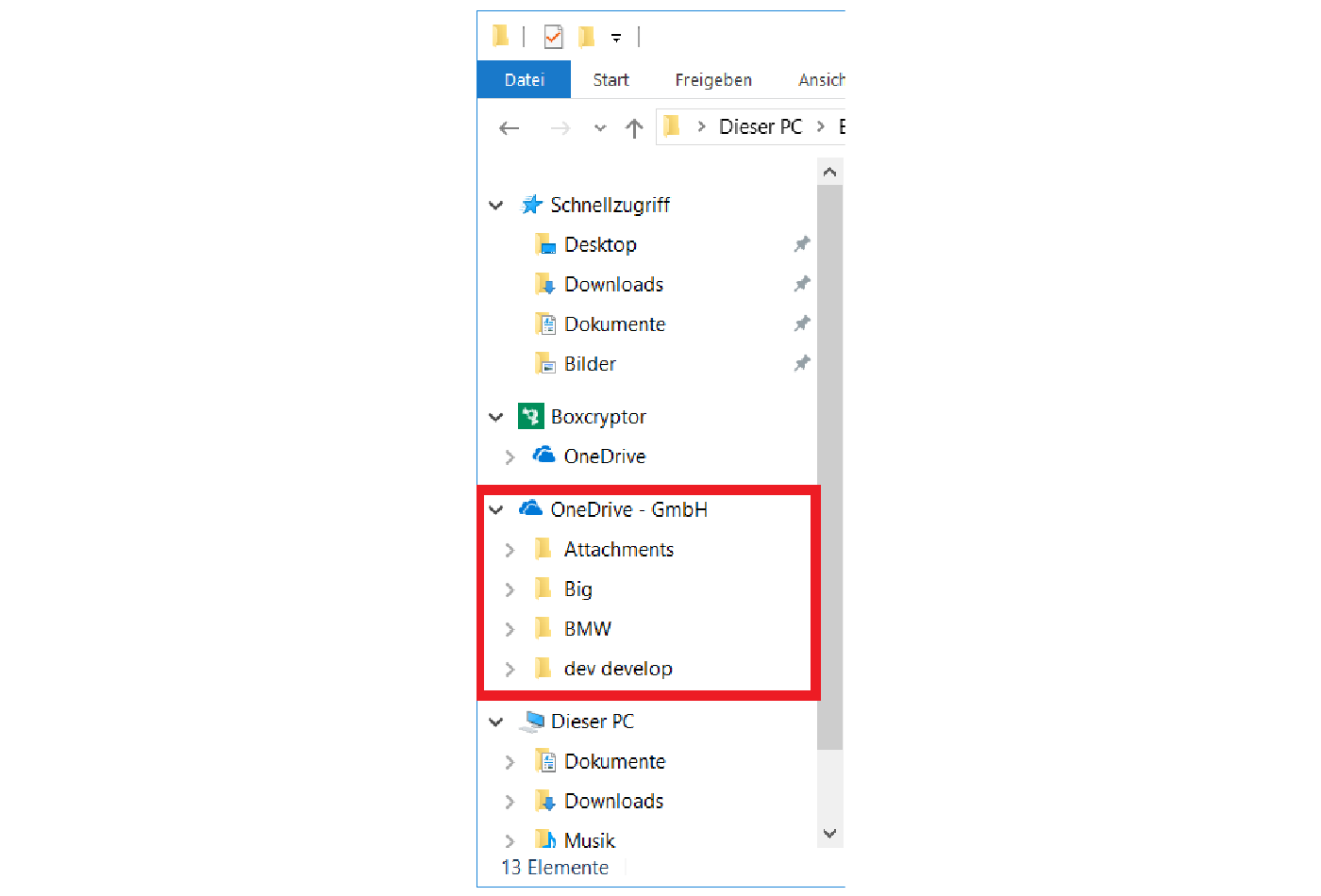OneDrive for Business Client im Windows Explorer