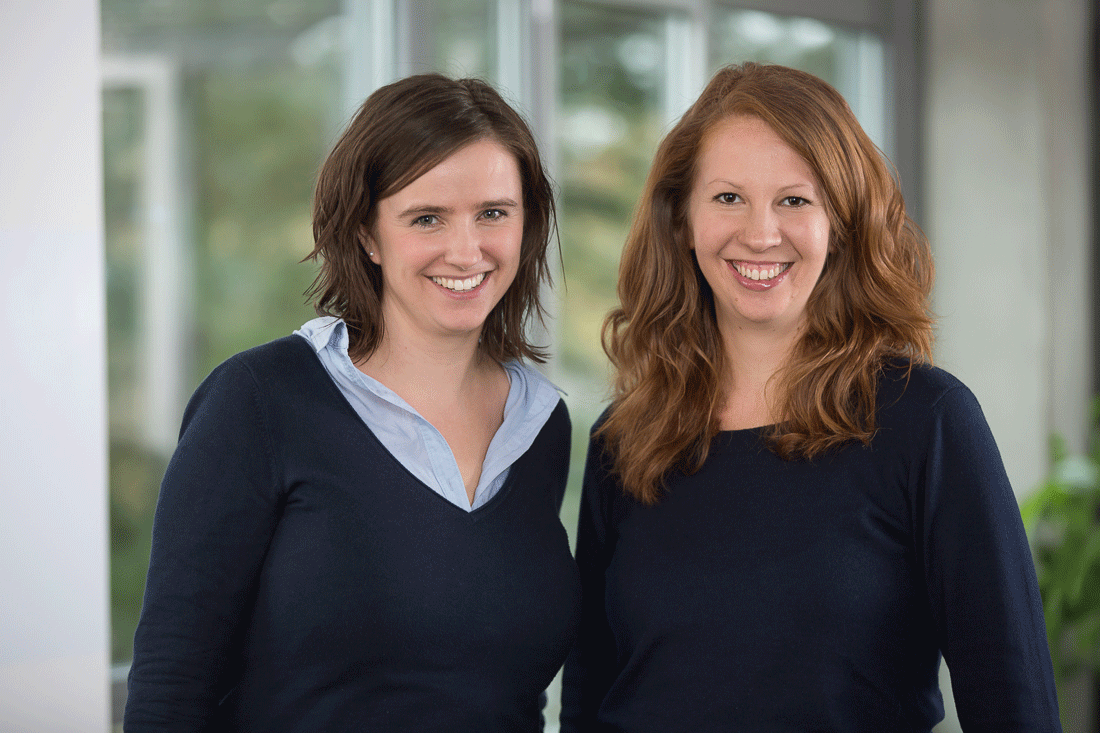 The Marketing Team at Boxcryptor Consists of Lisa Figas and Dr. Rebecca Sommer