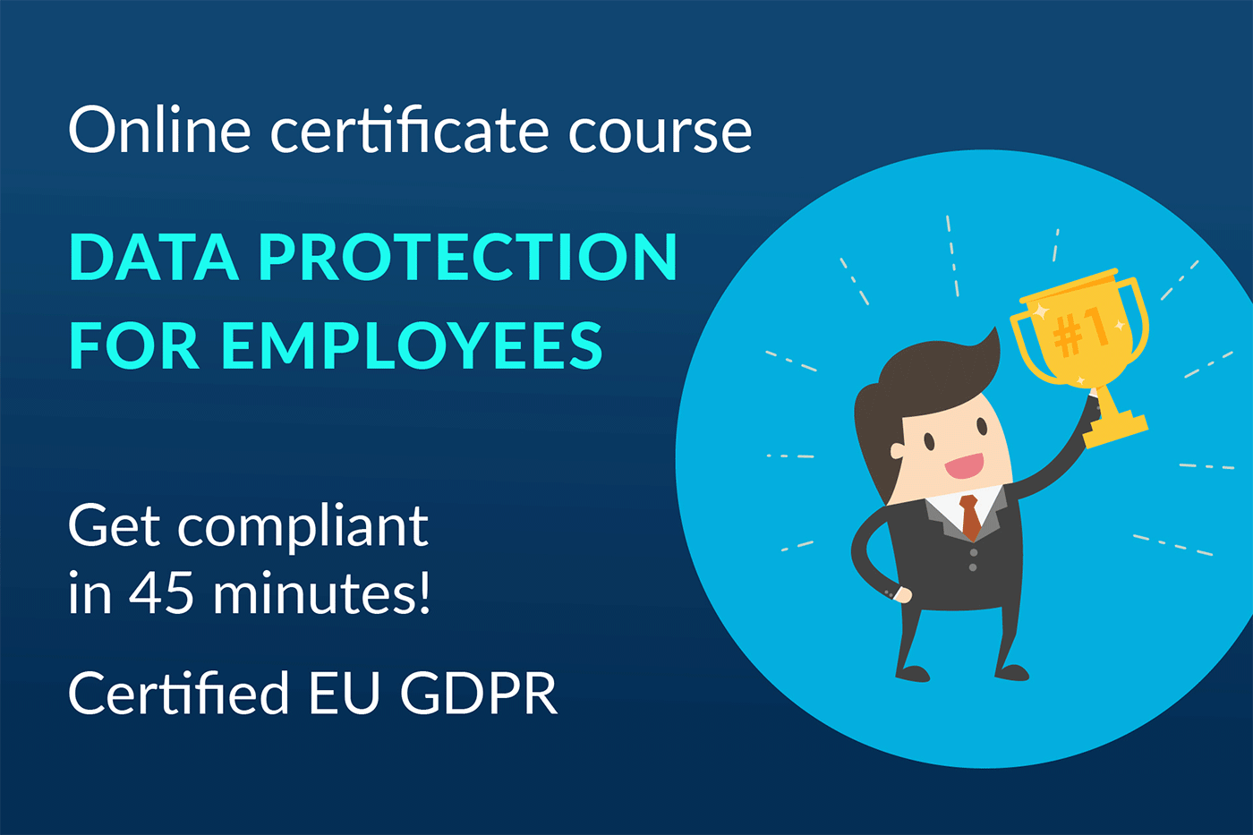 Data Protection Online Certification for Employees by lawpilots