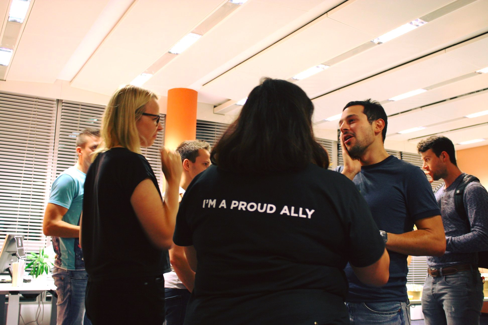 Proud Ally at Berlin LGBT+ Tech Week