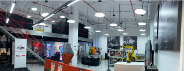 Acme Manufacturing Company's R&D center in Singapore.