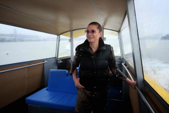 New De Maas van Marlies Dekkers - Onderstroom - Watertaxi Rotterdam #ZX16