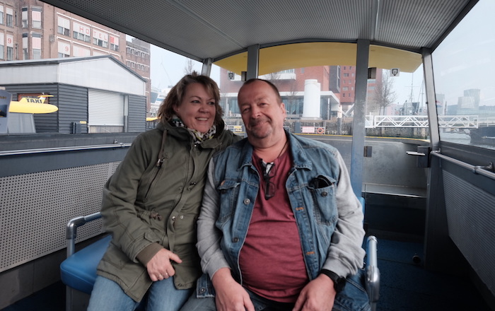 watertaxi - sabine en thomas