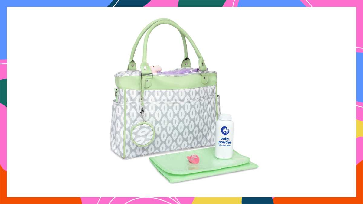This Diaper Bag Gets The Job Done For