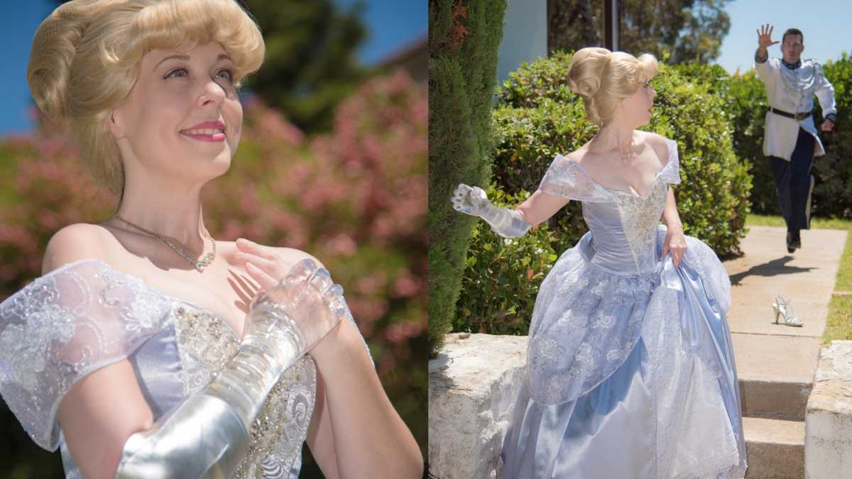 Mom Poses As Cinderella With a Glass Arm in Powerful Photo Shoot | Mom.com