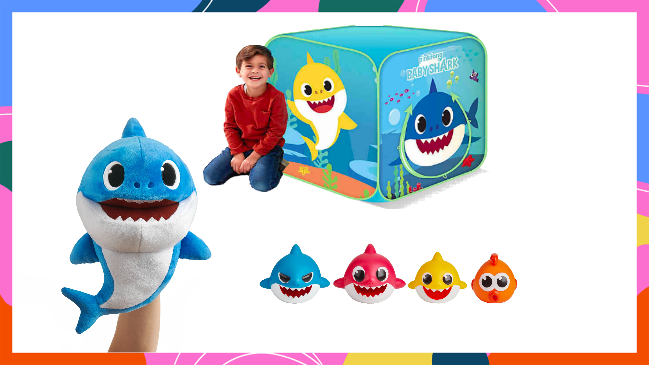 Pycod Bath Squirt Toy Children Bathing Water Toys Shark Baby Squeezing Soft Plastic