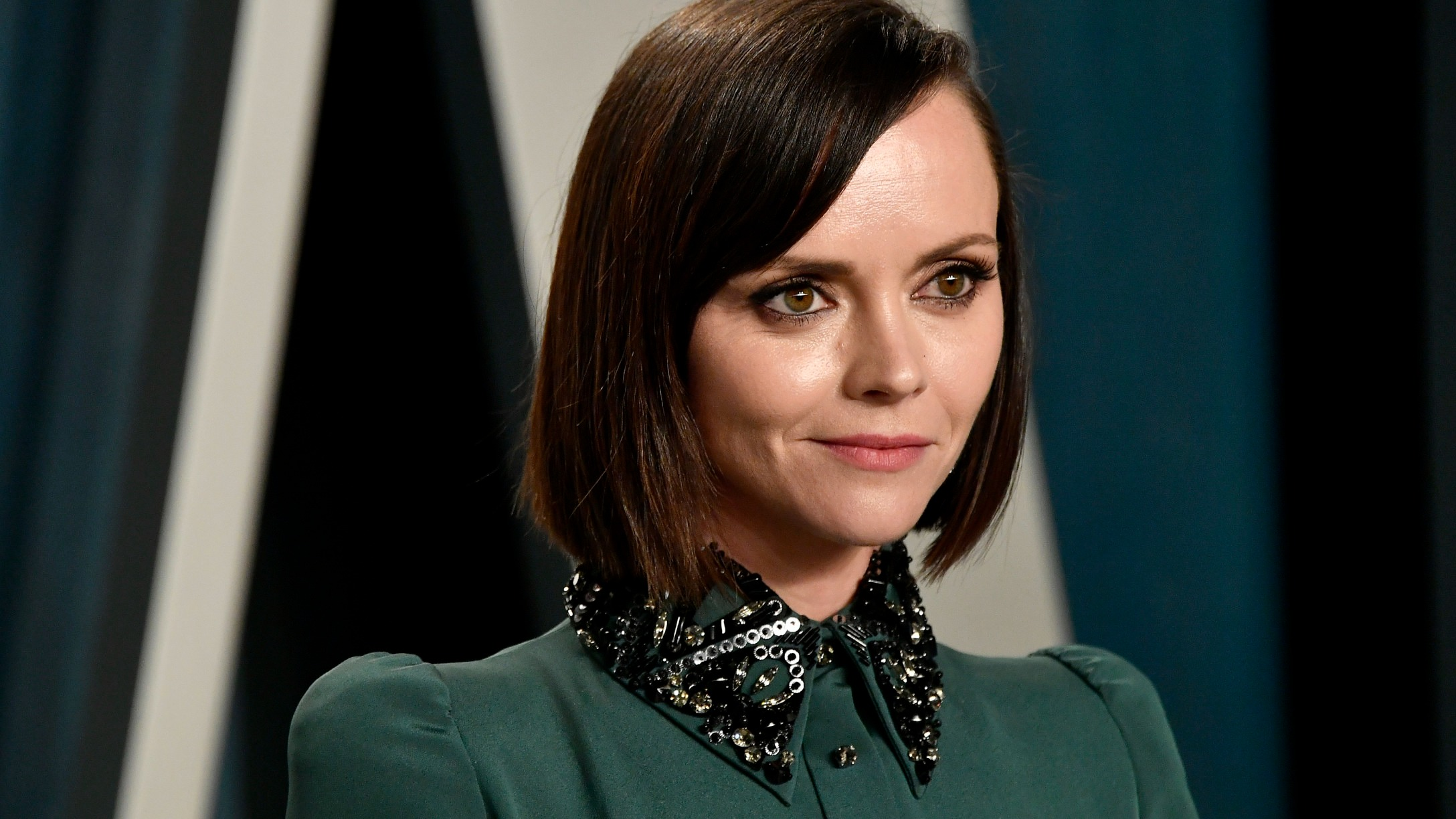 Christina Ricci Pokes Fun at Her Maternity Style, Saying It's 'Influenced by Gummy Bears'