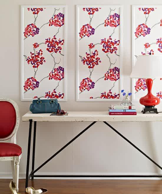20 Genius Diy Uses For Leftover Wallpaper Scraps Mom Com