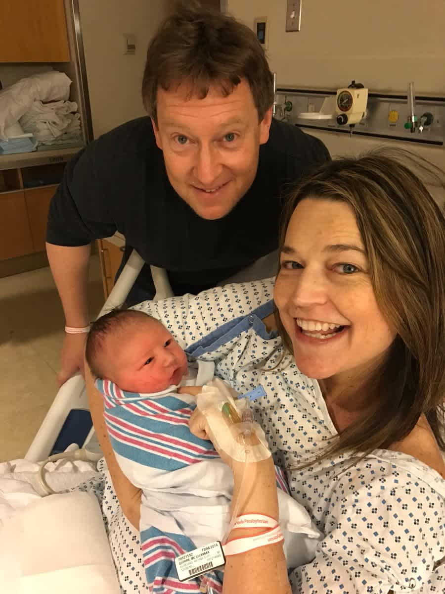 Today Show S Savannah Guthrie Gives Birth Mom Com