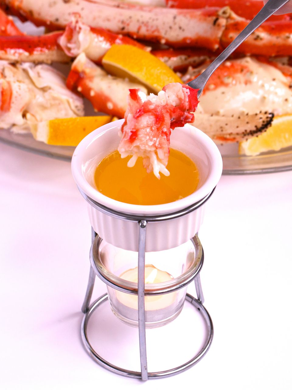 King Crab Legs Drawn in Butter | New Year's Eve Dinner Recipes To Kick Off 2020 In Style