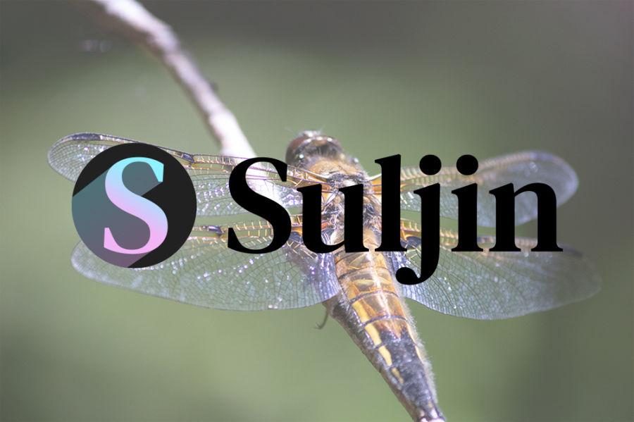 JPG-kuva sudenkorennosta ja sen päällä olevasta Sulkimen logosta