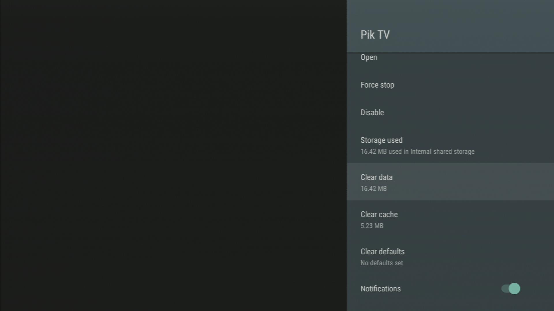 Reset the Pik TV app   Support   TELUS com