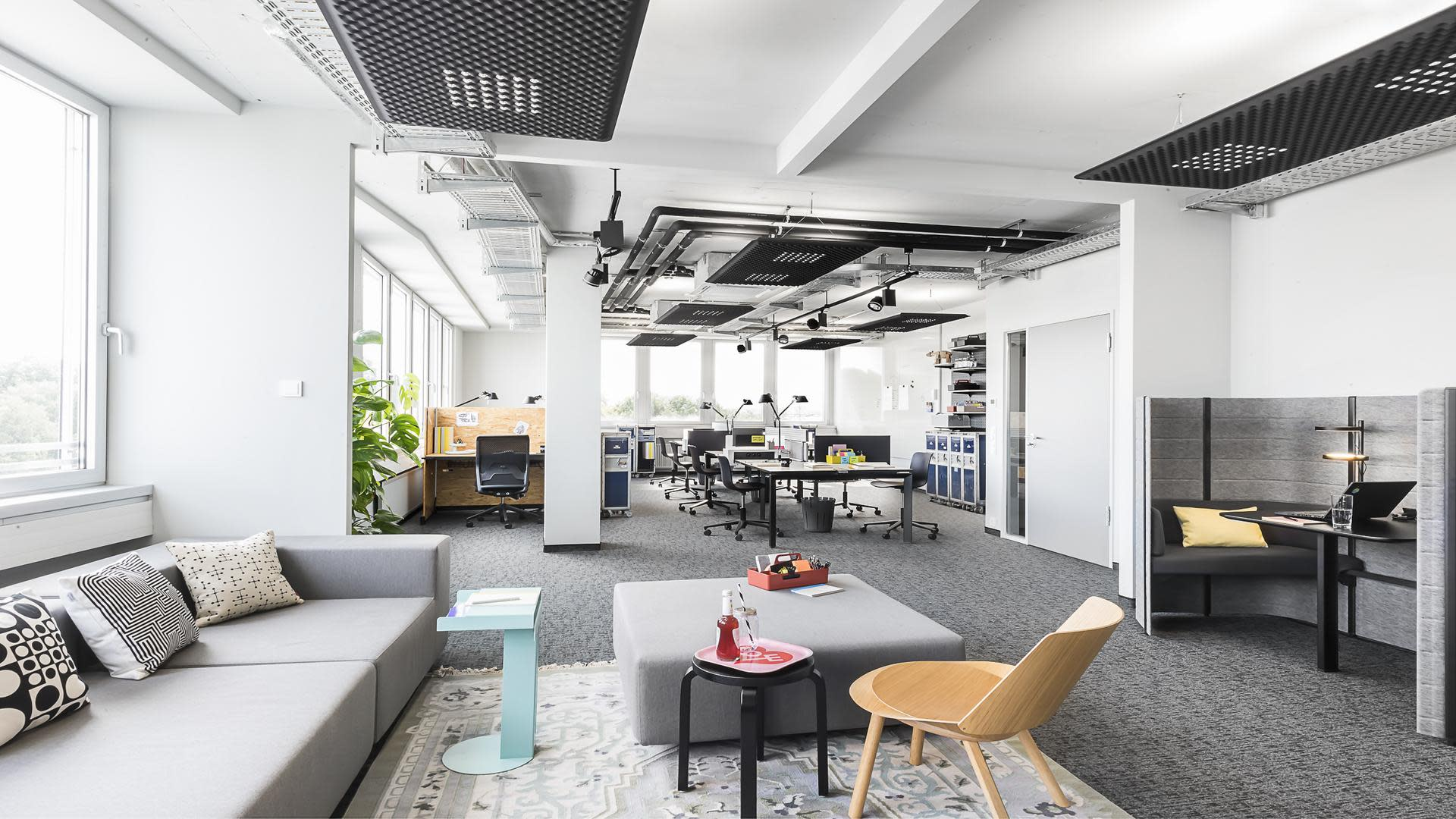 Work Loft bei Design Offices Stuttgart Tower