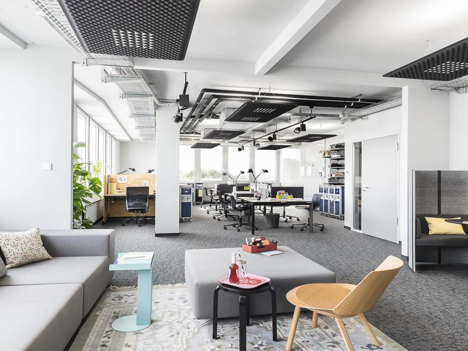 Work Loft at Design Offices Stuttgart Tower
