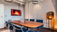 Fireside Room bei Design Offices Leipzig Post