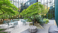 Outdoor Space bei Design Offices Frankfurt Westendcarree