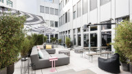 Terrasse bei Design Offices Stuttgart Tower
