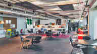 DO Lounge am Standort Design Offices München Atlas