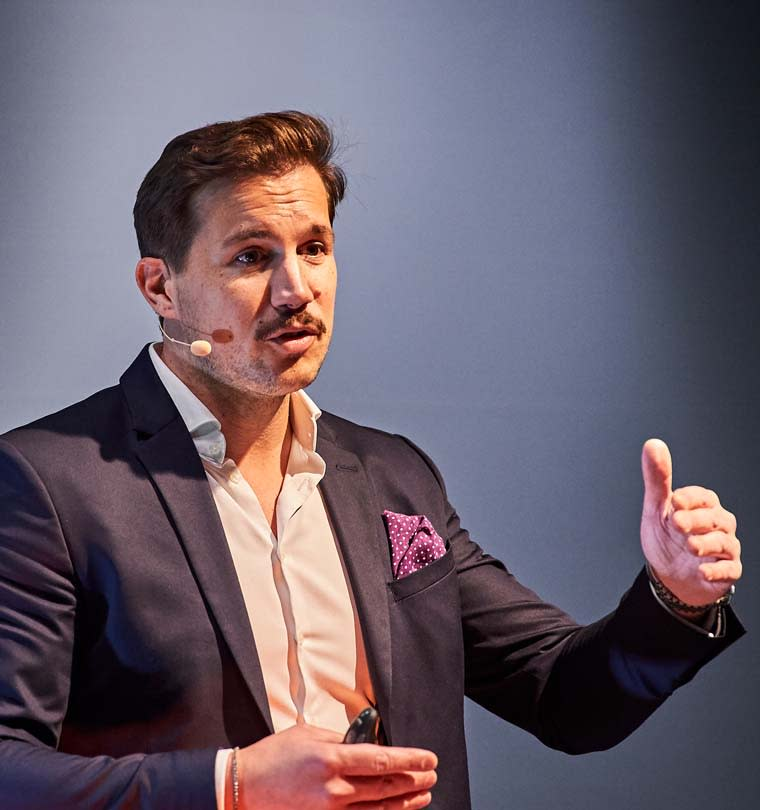 Alessandro Spanu, Speaker und Motivationscoach bei Meduri & Spanu