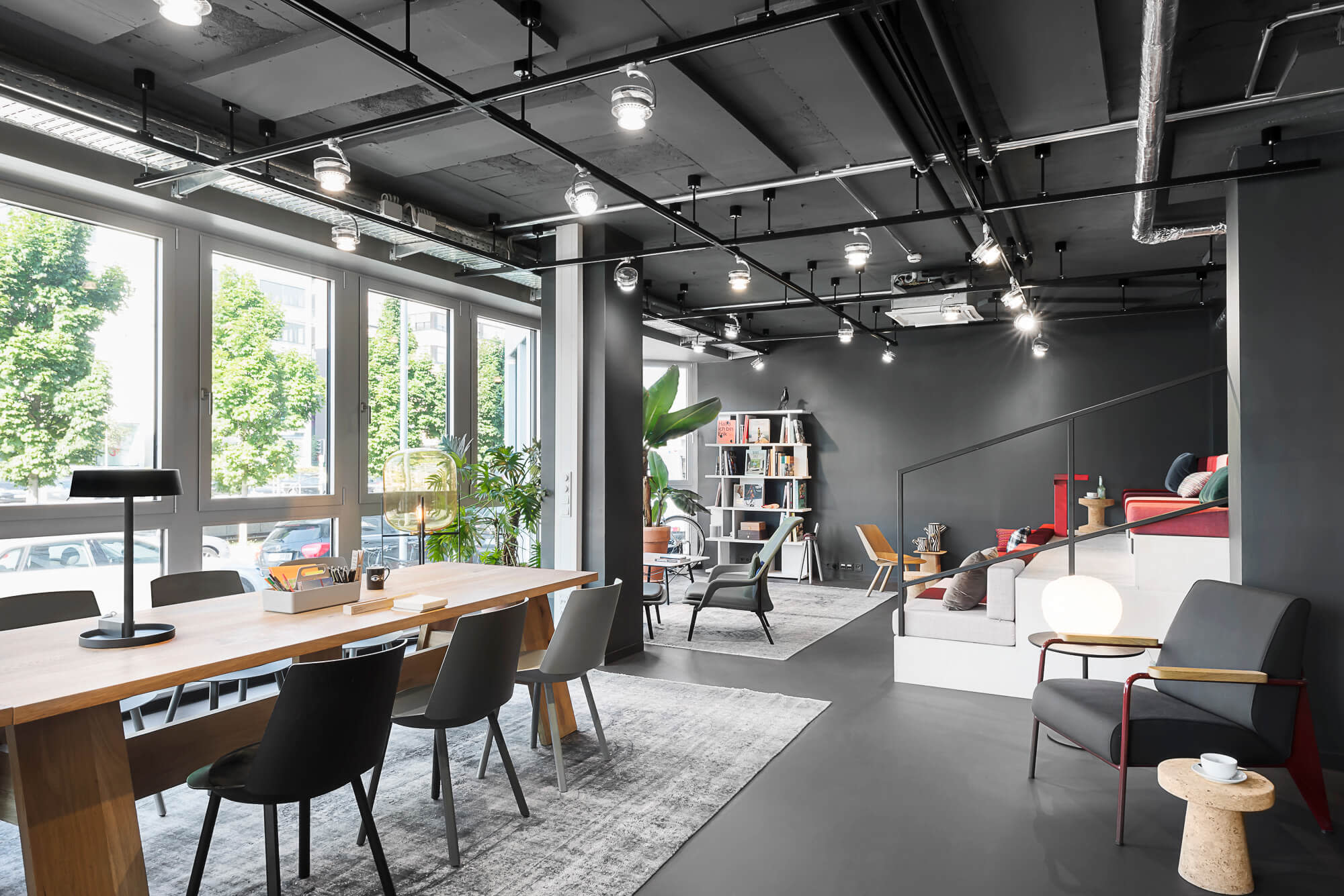 DO Lounge bei Design Offices Stuttgart Tower
