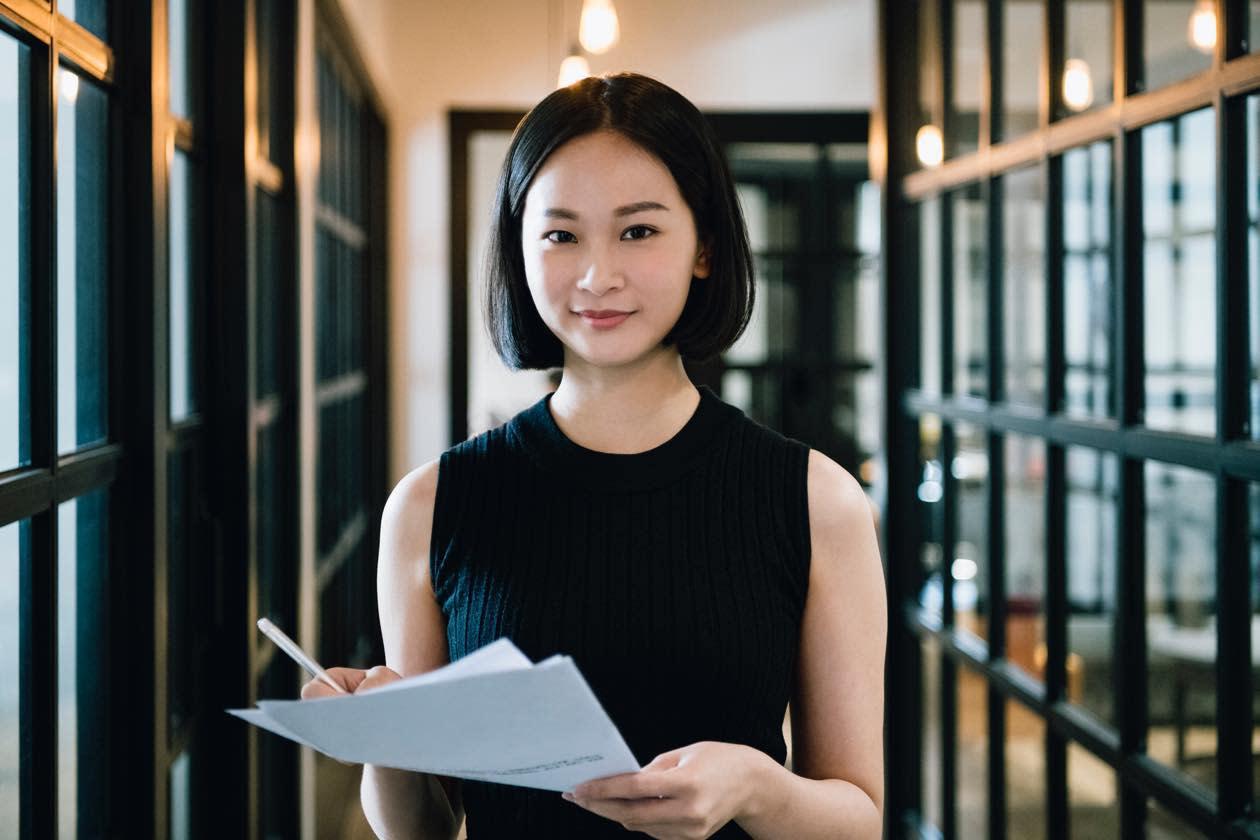 人事管理システム導入に期待している女性