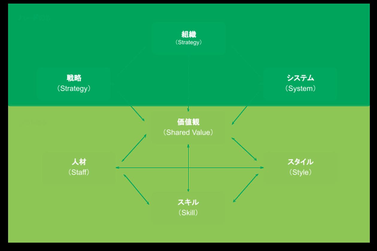 組織マネジメントのためのマッキンゼー7Sフレームワーク実践