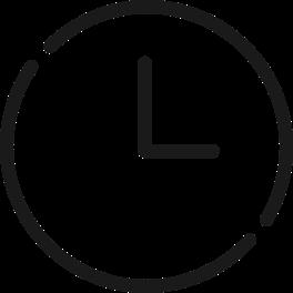 Symbol einer Uhr