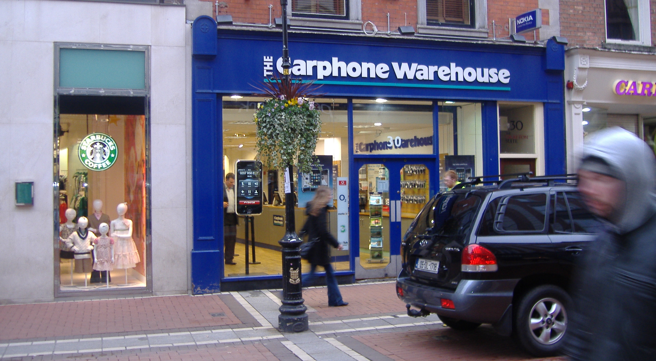 carphone warehouse store in london