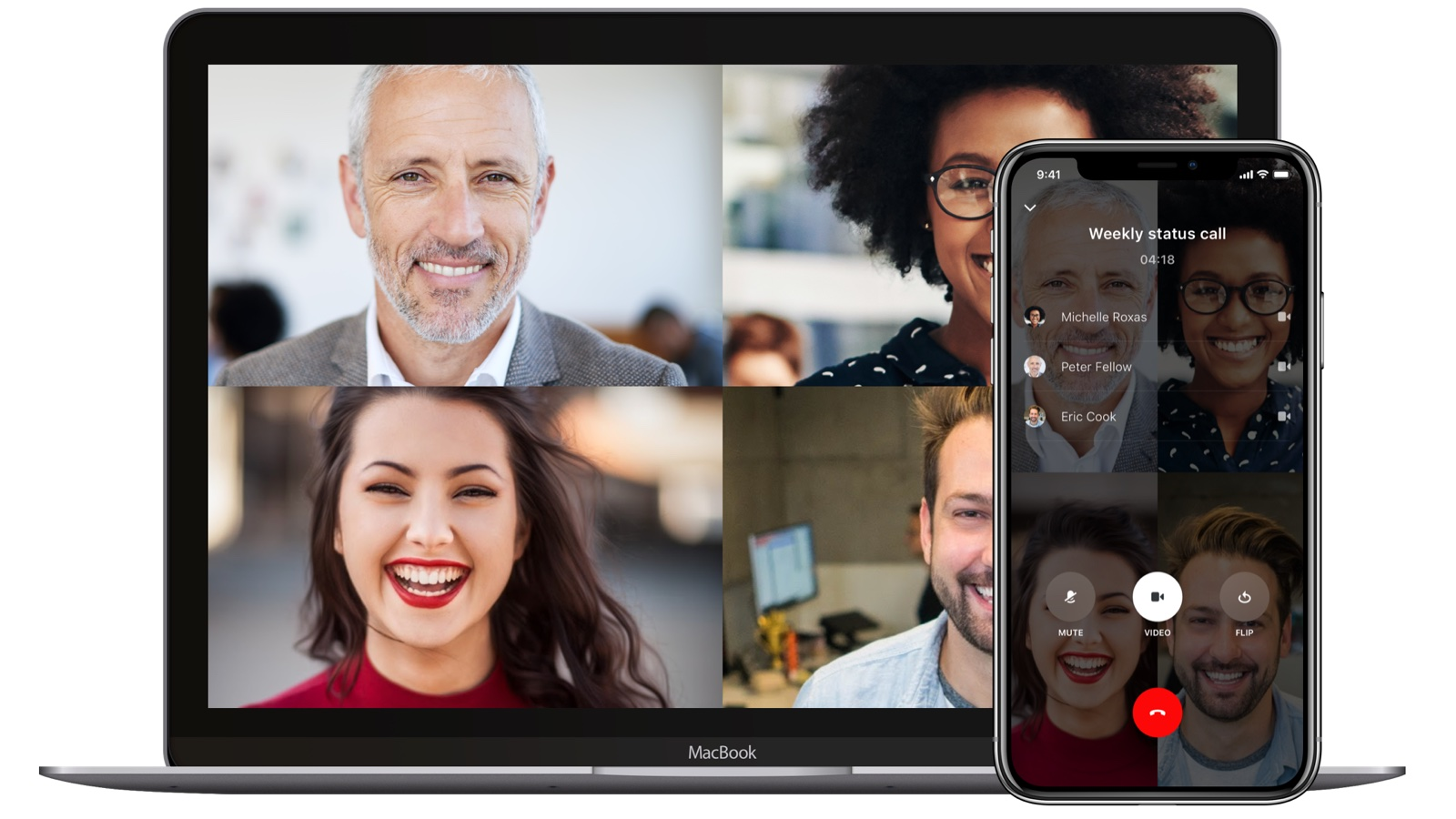 encrypted video conferencing hero