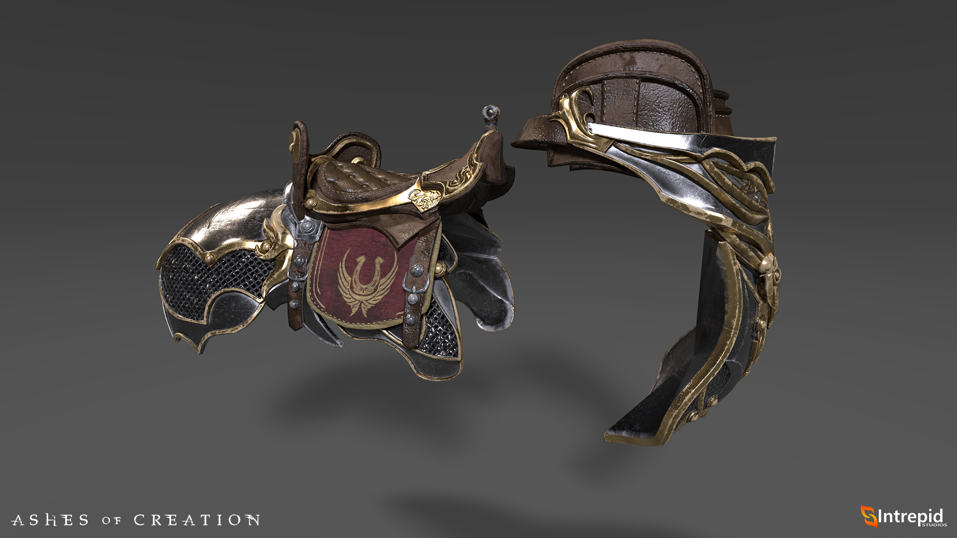 hippogryph saddle KAE marketing