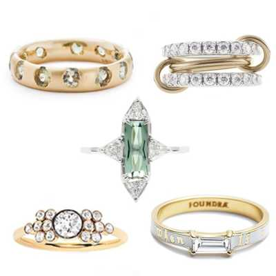 Top 5 classic engagement rings with a twist
