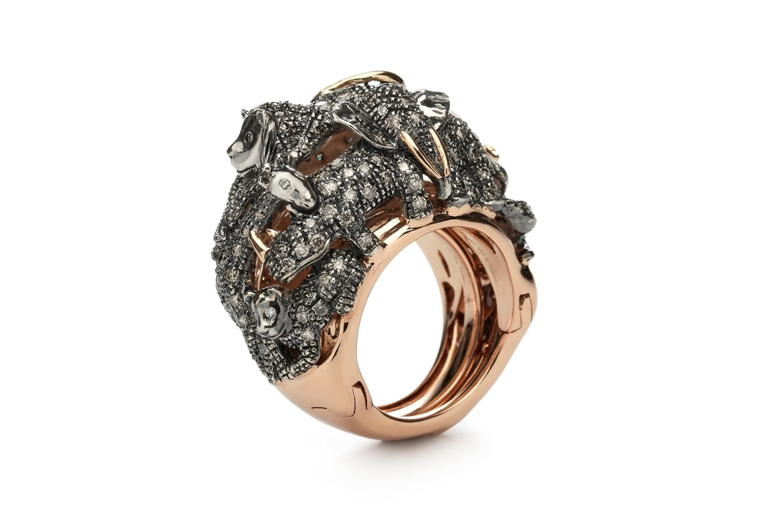 animal ring in a ring by bibi van der velden sml